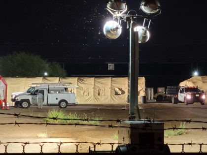 Texas Border City Opens Tent Camp to Absorb Released Migrants