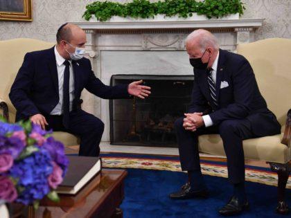 Netanyahu Mocks Joe Biden for 'Snoozing' During Meeting with Naftali Bennett