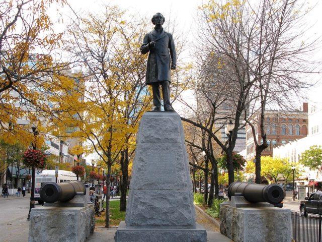 Sir John A MacDonald statue