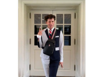 TikTok Star at White House