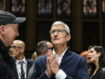 Tim Cook prays for good fortune