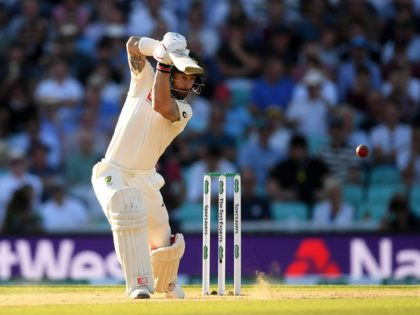 LONDON, ENGLAND - SEPTEMBER 15: Matthew Wade of Australia bats during Day Four of the 5th Specsavers Ashes Test between England and Australia at The Kia Oval on September 15, 2019 in London, England. (Photo by Alex Davidson/Getty Images)