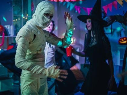 Halloween Costume Party stock photo