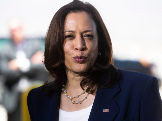 Vice President Kamala Harris holds a press conference at the end of her visit to El Paso, Texas to tour the U.S./Mexico border. Ad Harris1589