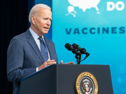President Joe Biden, joined by Vice President Kamala Harris, delivers remarks on the COVID-19 National Month of Action on Wednesday, June 2, 2021, in the South Court Auditorium in the Eisenhower Executive Office Building at the White House. (Official White House Photo by Adam Schultz)