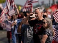 California Crowds Line Streets upon Return of Fallen Marine Nicole Gee's Body