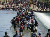CBP Closes Both International Bridges in Del Rio, Texas, as Migrant Camp Crisis Worsens