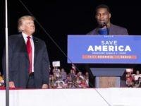 'Run Herschel Run' — Former Football Great Gets Raucous Response in First Campaign Speech at GA Trump Rally