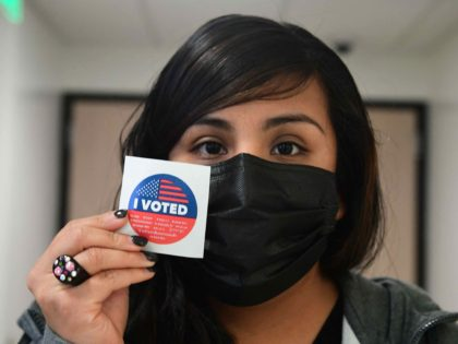 California recall vote (Frederic J. Brown / AFP / Getty)