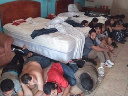 Border Patrol agents find 16 migrants being held for 39 days in a motel room near the Texas-Mexico border. (Photo: U.S. Border Patrol/Rio Grande Valley Sector)