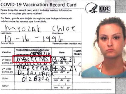 Fake Vaccination Card