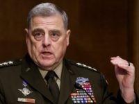 Report — Gen. Mark Milley: BLM Riots Causing One Billion Dollars in Damage Were Trivial