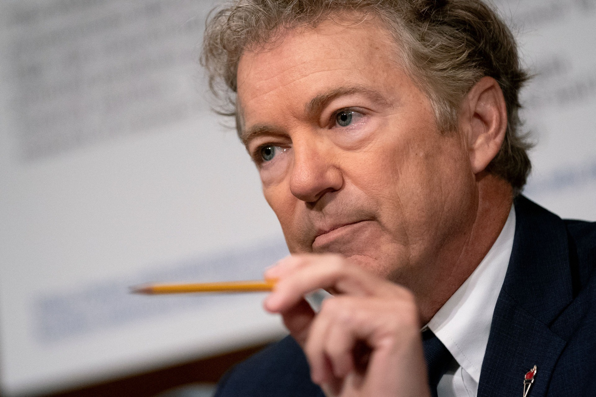 Senator Rand Paul (R-KY) speaks during the Senate Health, Education, Labor, and Pensions Committee hearing on Capitol Hill in Washington, DC, on July 20, 2021. (Photo by Stefani Reynolds / POOL / AFP) (Photo by STEFANI REYNOLDS/POOL/AFP via Getty Images)