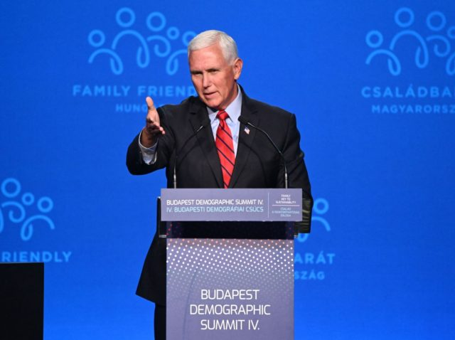 Pence in Hungary: You Can Be for Working-Class Families or Open Borders – Not Both