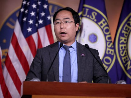 WASHINGTON, DC - AUGUST 24: Rep. Andy Kim (D-NJ) talks to reporters following a caucus meeting at the U.S. Capitol on August 24, 2021 in Washington, DC. A member of the National Security Caucus, Kim said it is impossible to evacuate all American citizens and Afghan allies before President Joe …