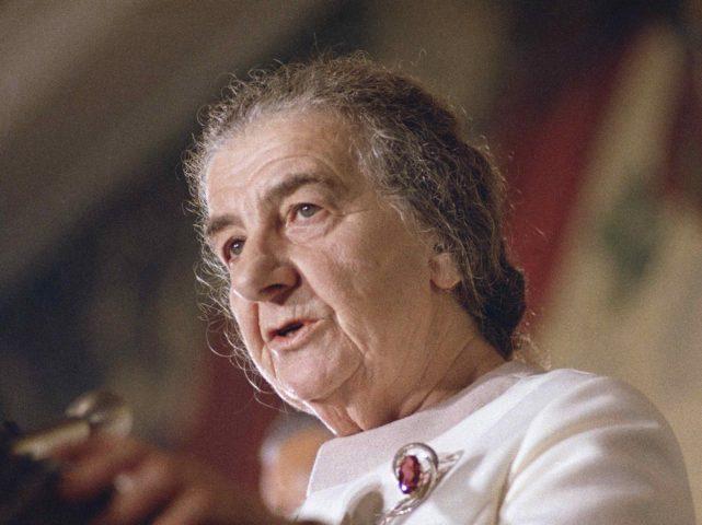 Golda Meir (Associated Press)
