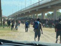 EXCLUSIVE: 12K Migrants in Texas Border Bridge Detention Camp