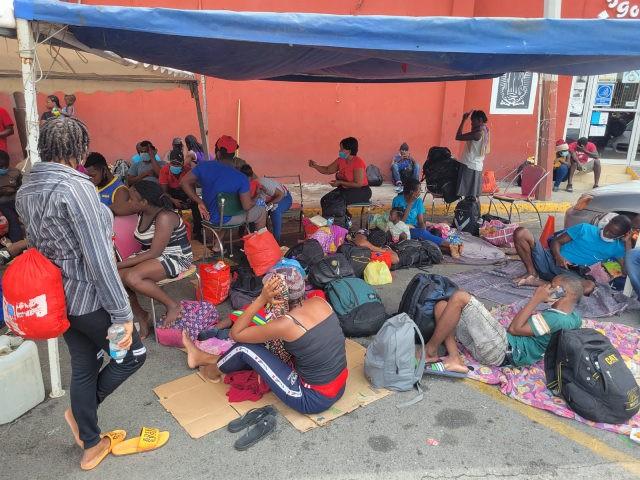 Haitians in Monterrey