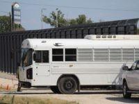 Haitian Migrants Overtake, Escape Border Patrol Transport Bus in Texas