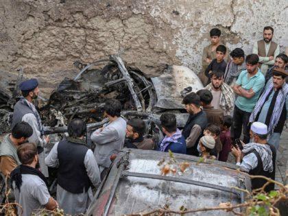 Kabul airstrike (Wakil Kohsar / AFP / Getty)