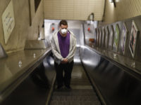 Fearful London: Falls Soar as People Scared of Catching Covid from Handrails