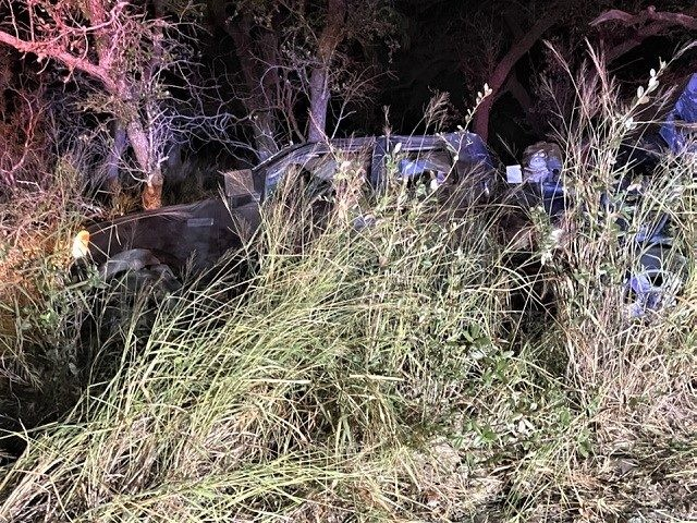 A Salvadoran woman was killed by a truck as she attempted to cross Highway 281 south of the Border Patrol checkpoint in Falfurrias, Texas. (Photo: Brooks County Sheriff's Office)