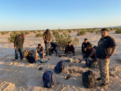 A group of migrants apprehended in the Arizona Desert in August. (Photo: U.S. Border Patrol/Yuma Sector)