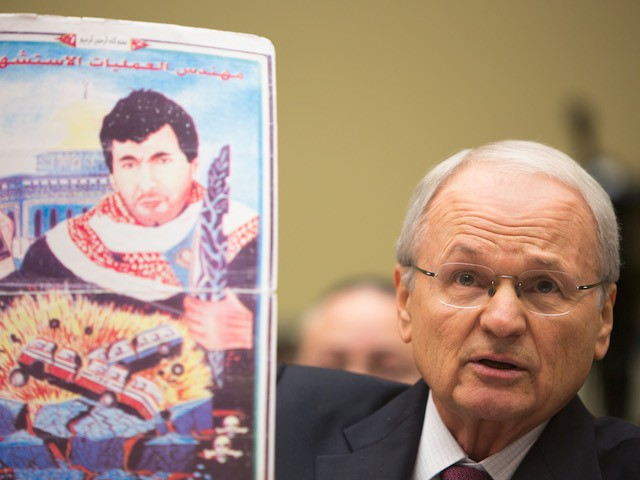 Morton Klein of Zionist Organization of America attends a hearing at the National Oversight and Government Reform Committee on moving the U.S. Embassy in Israel to Jerusalem on Capitol Hill on November 8, 2017, in Washington, DC. (Tasos Katopodis/Getty Images)