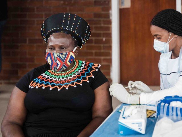 South Africa vaccination (Rajesh Jantilal / AFP / Getty)