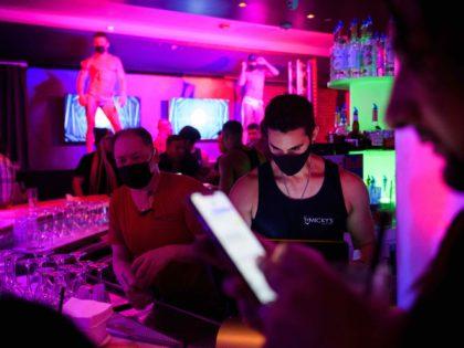 West Hollywood bar (Patrick T. Fallon / AFP / Getty)