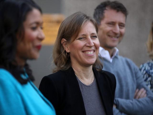 YouTube Boss Susan Wojcicki is all smiles