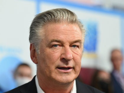 """US actor Alec Baldwin attends DreamWorks Animation's """"The Boss Baby: Family Business"""" premiere at SVA Theatre on June 22, 2021 in New York City. (Photo by Angela Weiss / AFP) (Photo by ANGELA WEISS/AFP via Getty Images)"""
