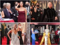 Emmys: Hollywood Celebrities Go Maskless Around Face-Covered Staff