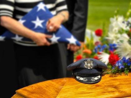 funeral for U.S. veteran