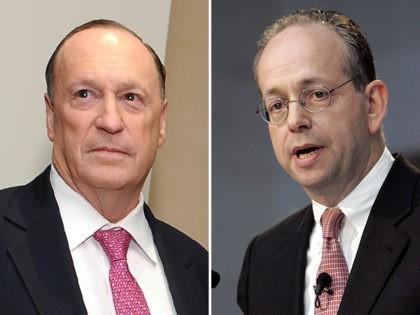 Steven Brill and Gordon Crovitz, co-CEOs of NewsGuard