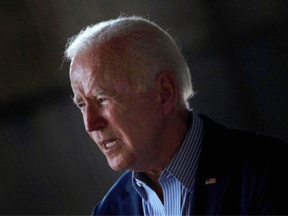 US President Joe Biden speaks about wild fires and climate change at Sacramento Mather Airport in Mather, California on September 13, 2021. - US President Joe Biden kicked off a visit to scorched western states Monday to hammer home his case on climate change and big public investments, as well …