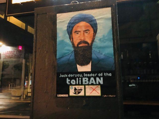 TaliBAN poster mocks Twitter CEO Jack Dorsey