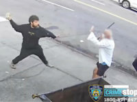 VIDEO: Panhandler Throws Brick at Bagel Shop Worker's Face