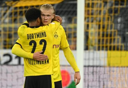 England midfielder Jude Bellingham and Norway striker Erling Braut Haaland are in outstanding form for Dortmund