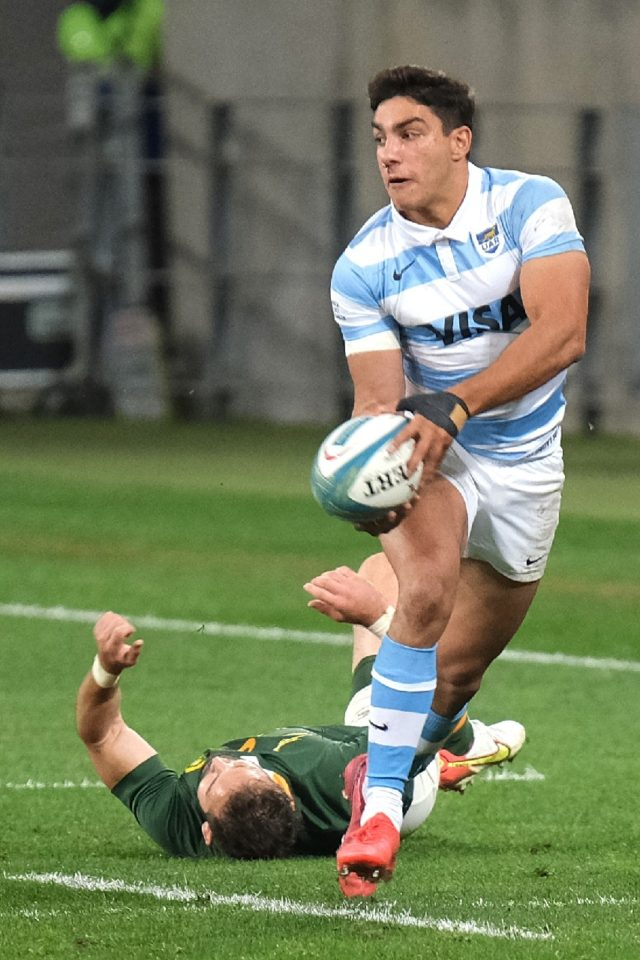 Fullback Santiago Carreras will make his first start at fly-half for Argentina against the All Blacks on Saturday