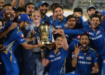 Mumbai Indians, led by Rohit Sharma, have won the last two editins of the IPL and are among the favourites again when this year's virus-interrupted tournament resumes