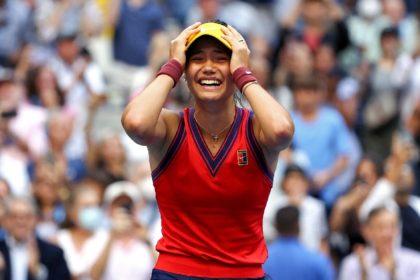 British teenager Emma Raducanu won her first Grand Slam at the US Open