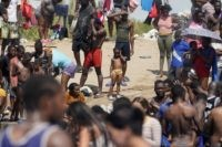 U.S. May Fly Haitian Migrants Home From Texas Starting Sunday