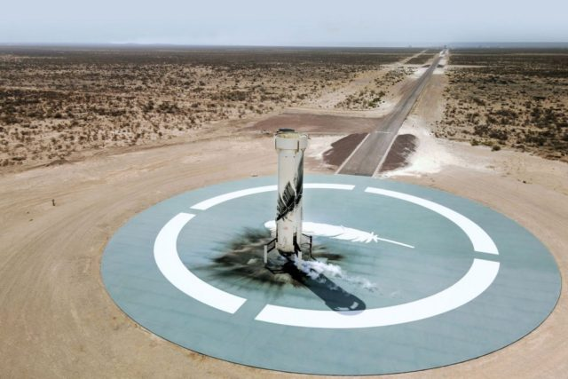 blue origin plans second crewed space launch from