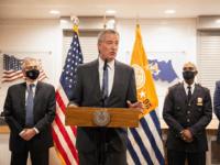 NYC Police Union Vows to Sue Bill de Blasio over Vaccine Mandate