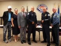 Actor Morgan Freeman Aids Interview Board for Alabama Police Recruits