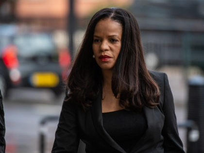 LONDON, ENGLAND - SEPTEMBER 27: Member of Parliament, Claudia Webbe, arrives at The City of Westminster Magistrates Court to face a charge of harassment on September 27, 2021 in London, England. The Labour MP, who represents Leicester East, pleaded not guilty shortly after the charge was initially brought in November …