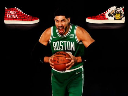 Enes Kanter #13 of the Boston Celtics poses for a photo during Media Day at High Output Studios on September 27, 2021 in Canton, Massachusetts. NOTE TO USER: User expressly acknowledges and agrees that, by downloading and or using this photograph, User is consenting to the terms and conditions of …