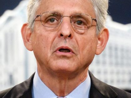 US Attorney General Merrick Garland holds a press conference to announce a lawsuit against Texas at the Department of Justice in Washington, DC on September 9, 2021 - The US Justice Department filed suit against the state of Texas on Thursday over its new law that bans abortions after six …