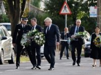 PICS: British Political Leaders Lay Flowers at Church Where MP was Stabbed to Death